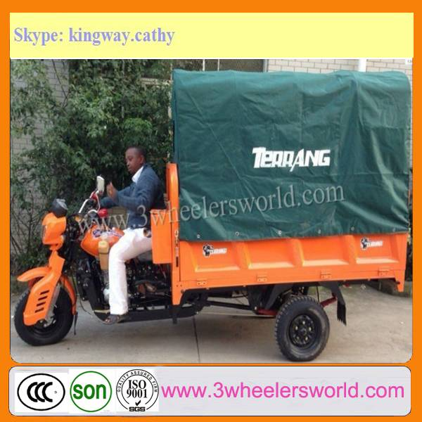 Cheap New Three Wheel Cargo and Passenger Motorcycle Sale from China Manufacture