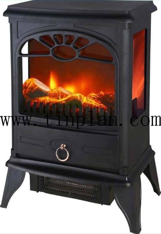 3side glass mechanical version modern fancy electric fireplace heater 850/1500W