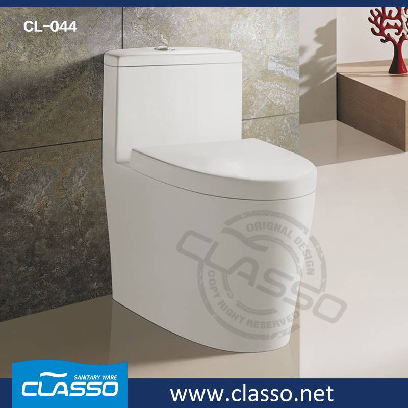 Hotel siphonic toilet new design water closet CL-044