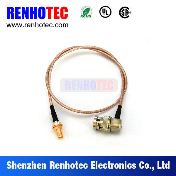 Right angle BNC Male Straight 1.0-2.3 Female connector