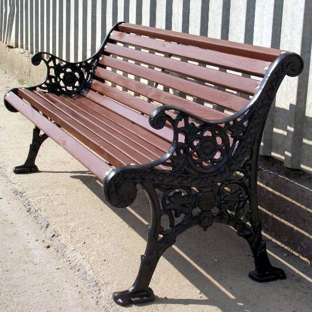 park bench/ chair/ cast bench and chair/outdoor furniture
