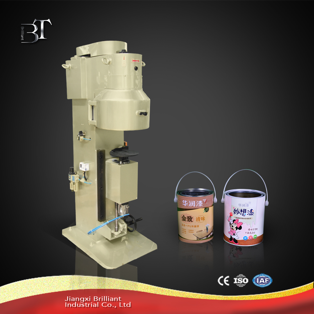Semi-automatic tin can making machine