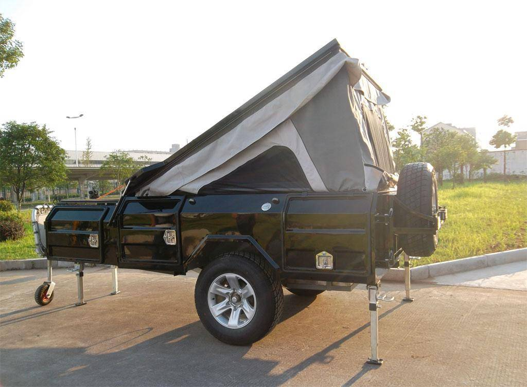 2013 style double shock absorber camping trailer