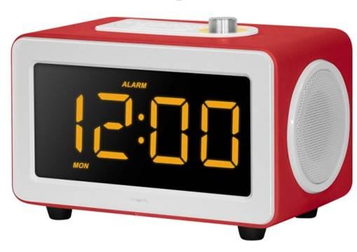 LED CLOCK WITH FM RADIO AND SD/USB SLOT