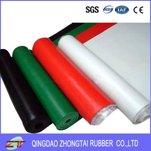 black fluorine rubber sheet