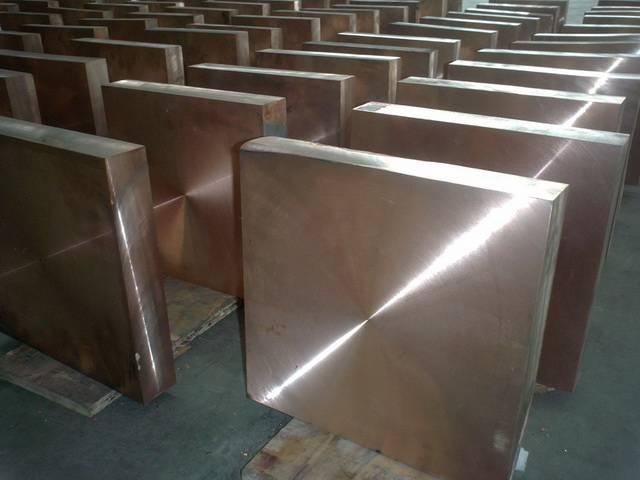 Tungsten Copper plate