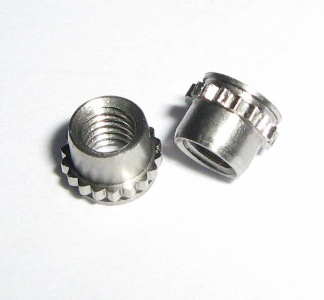 Miniature Self-clinching Fasteners provide strong and reusable threads for a minimal space