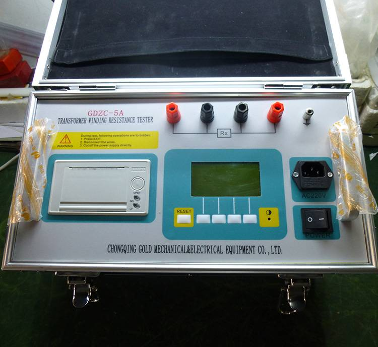 GDZC Power Transformer / Mutual Inductor DC Resistance Tester