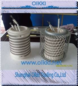 Cordierite ceramic for electronic heating elements