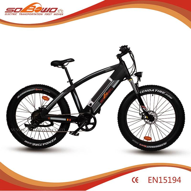 in frame battery 4.0 inch fat tire fast speed electric bicycle