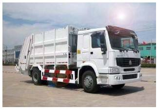 Sinotruk Howo Garbage Collector Truck Double Axle 336HP ZZ1257M3847C