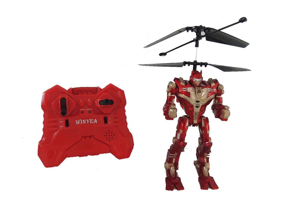 2ch R/C Infrared Flying Robot with Gyro