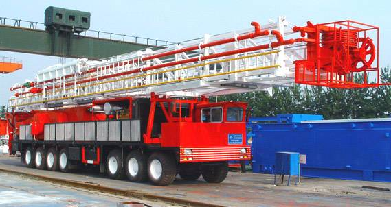 Truck-Mounted Drilling Rig Plant