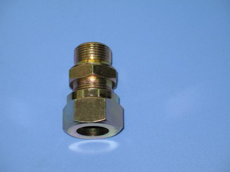 Straight thread connector-Body fitting