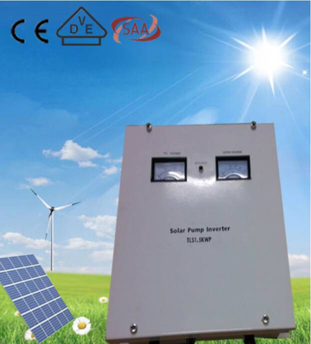 Wall-mounted 7500w high power pure sine wave off grid solar pump inverter