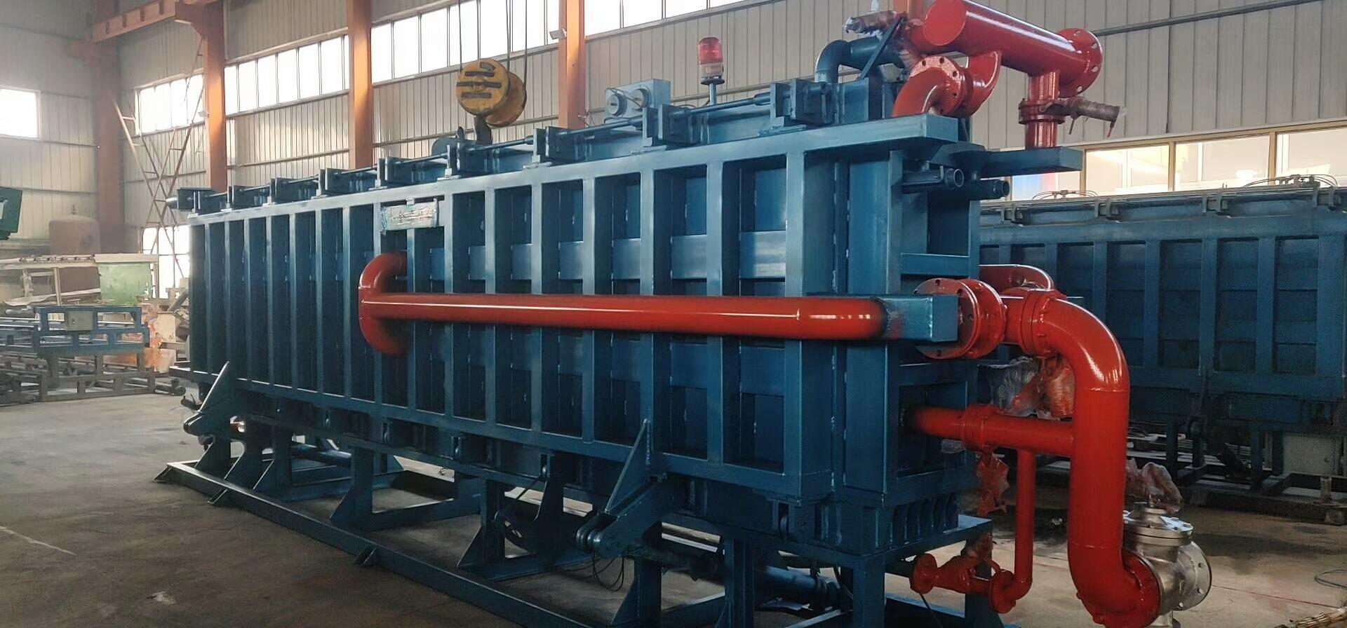 SELL second hand / used Guangxing EPS block machine, 6 Meter eps block