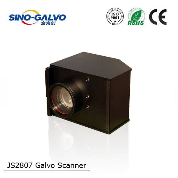 Hot Sale CE Marked JS2807 Galvo Scan Head
