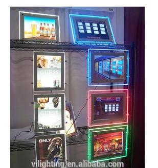 RGB light box for advertisement