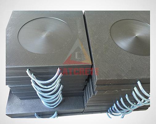 Concrete Pump Parts Putzmeister Outrigger Plate Leg Plate