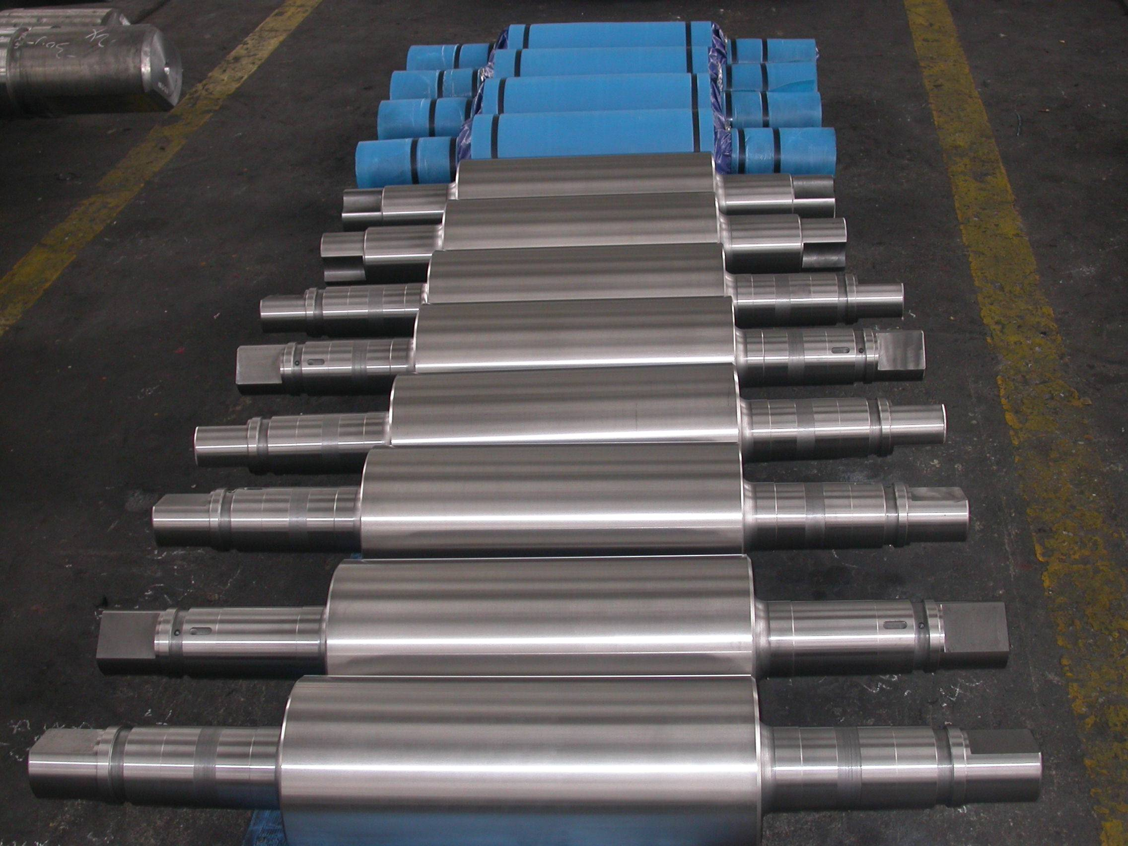 Used mill roll