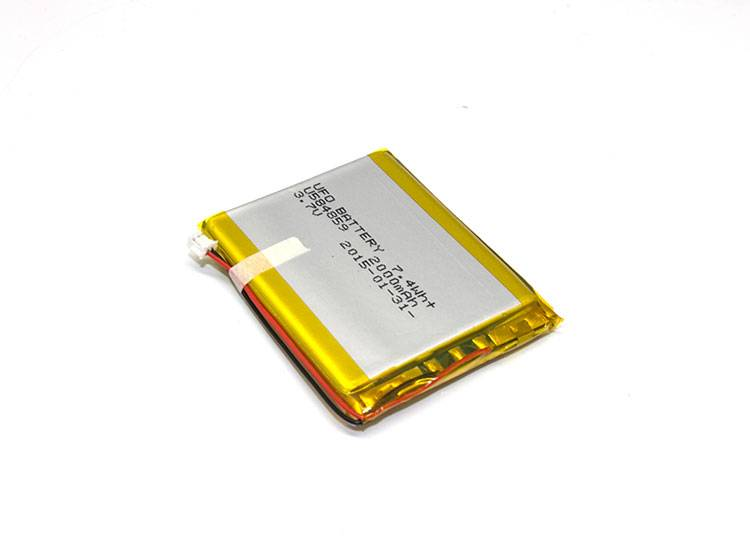3.7V 2000mAh Rechargeable Li-Polymer Battery