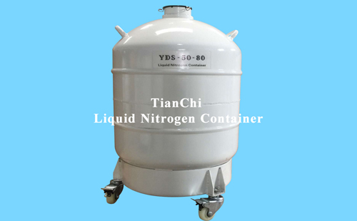 TIANCHI yds-50b-80 dewar tank for liquid nitrogen in Vanuatu