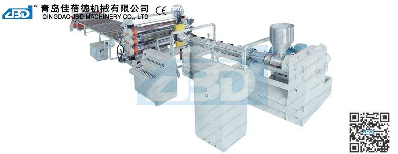 PE, PP, ABS Thick Board Production Line