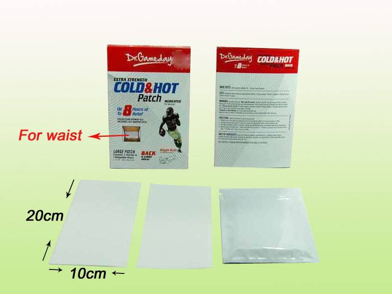 Cold & Hot Pain Relief Patch ( Water-proof coating plaster)