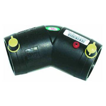 Electrofusion 45 degree elbow pipe fitting