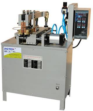 Ring butt welding machine