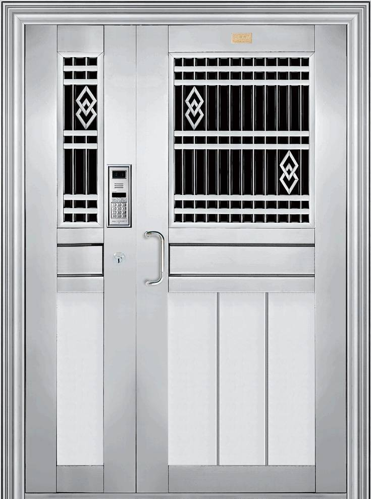Hot sell stainless steel mother and son door
