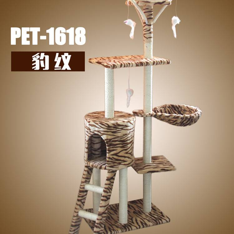 Colorful Customozied Cat Tree for Cat House