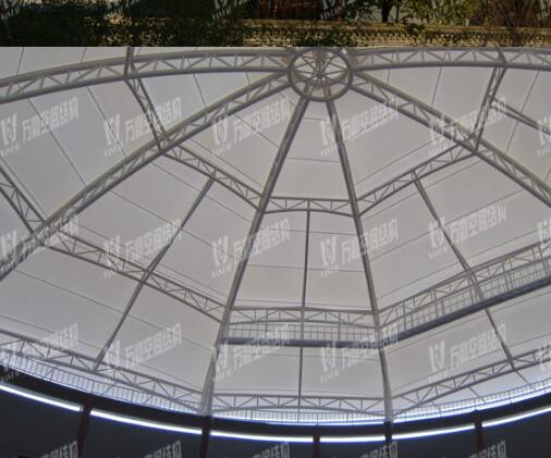 PTFE permanent architecture membrane, PTFE roofing material