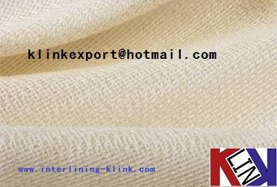 60 / 44 Width Knitted Double Dot Coated Interlining for suit
