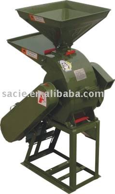 Hammer piece powder-crushing machine