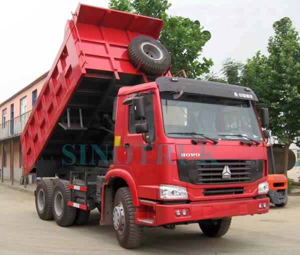 Sinotruk howo dump truck