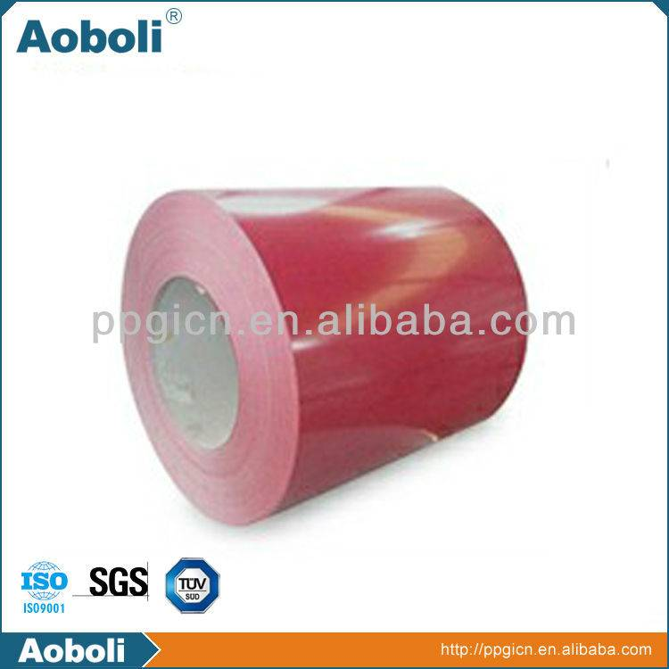 sell Red Color Coated Steel Coil