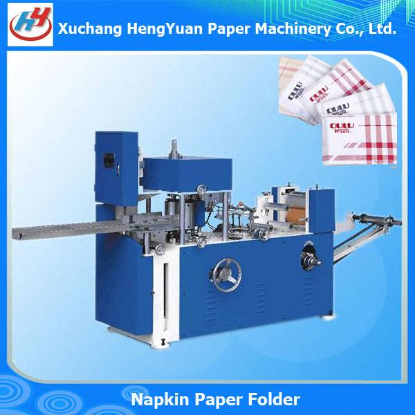 Embossing Pocket Napkin Fold Machine