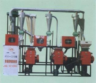 6FYZ-10 Type automatic feeding grain flour fabrication facilities