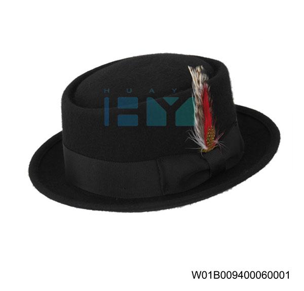 Wool Felt Pork Pie Hats