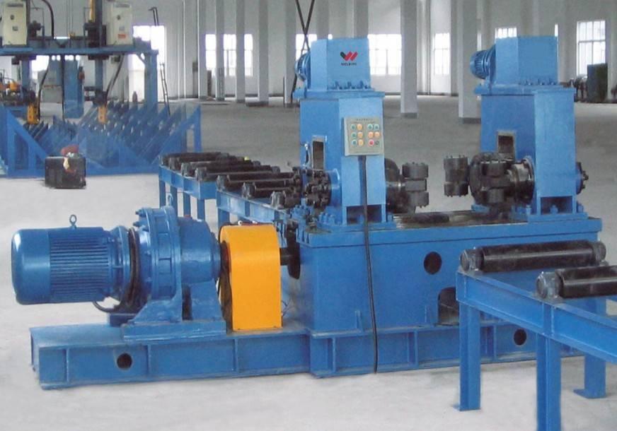 H-beam mechanical straightening machine