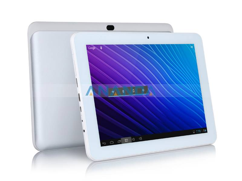 only 142 usd for 10.1inch Android 4.2 RK3188,Quad Core capacitive touch Tablet PC A12