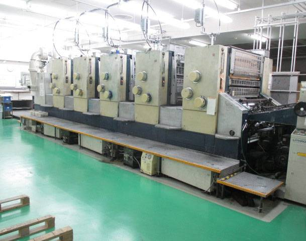 1993 and 1997 Komori Lithrone 544 / L544