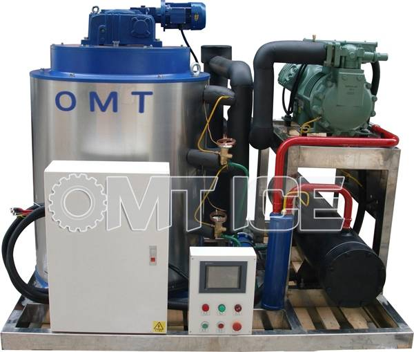 OMT 5ton Seawater Flake Ice Machine