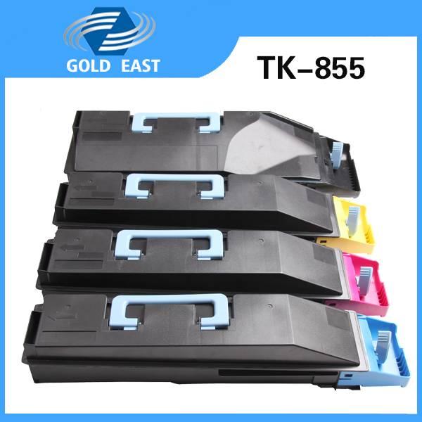 TK-855K/M/Y/C Kyocera toner cartridge for Kyocera TASKalfa 400ci/500ci/552ci