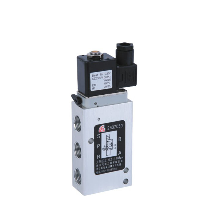 High frequency five way valve solenoid valve 2637050 AC/DC