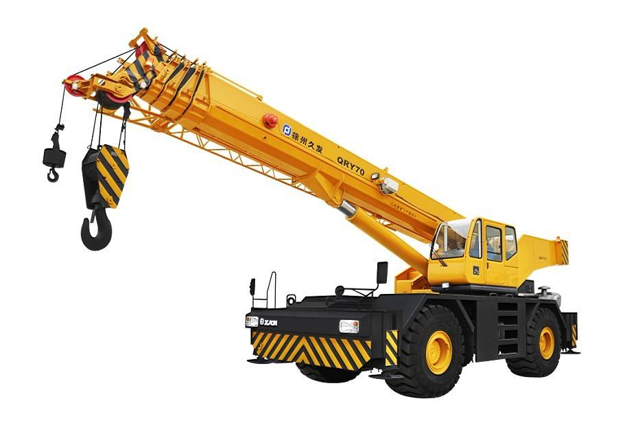 70ton rough terrain crane