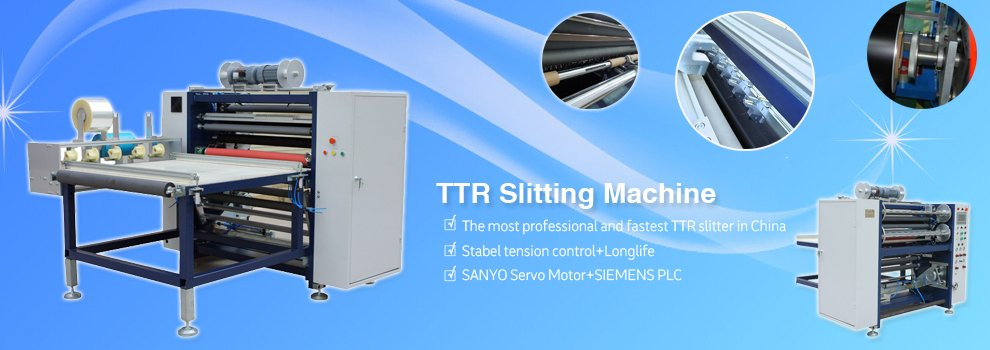 barcode ribbon slitting machine