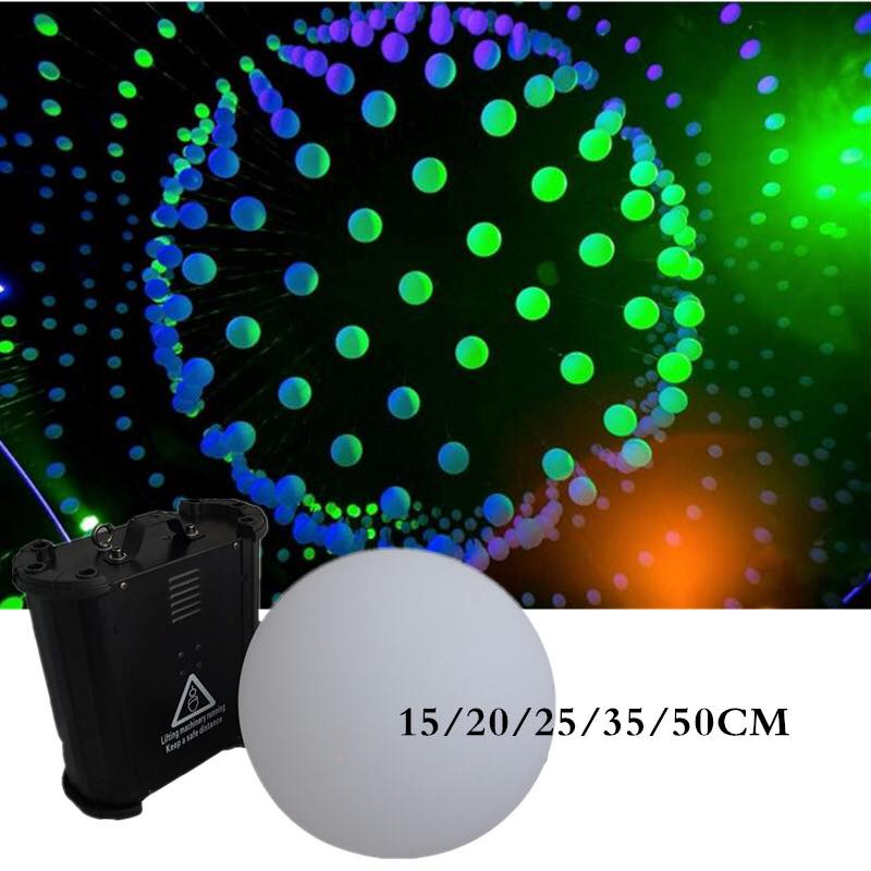 DMX lifting machine Lifting LED ball light disco bar ball