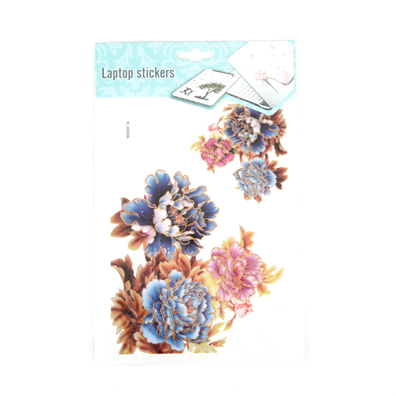 Flowers Themo Laptop Stickers&Decals